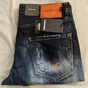 DSQUARED2 Cool Guy Slim Fit Distressed Jeans
